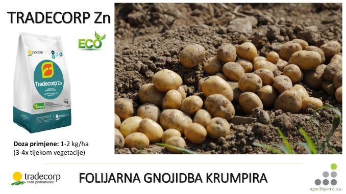 Tradecorp Zn - folijarna gnojidba krumpira